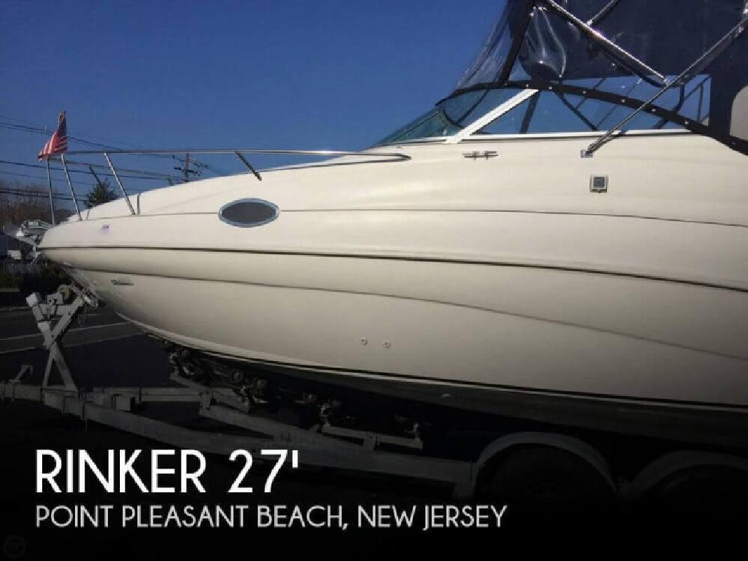 1997 Rinker Boats 266 Fiesta Vee Brick NJ