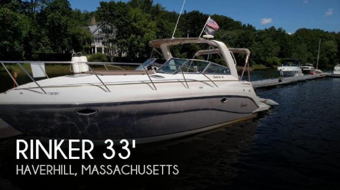 2004 Rinker Boats 312 Fiesta Vee Haverhill MA