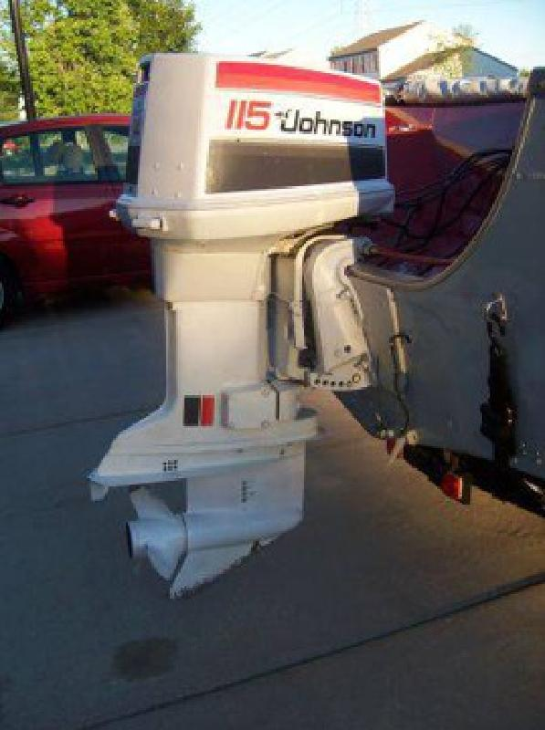 115 hp johnson outboard motor