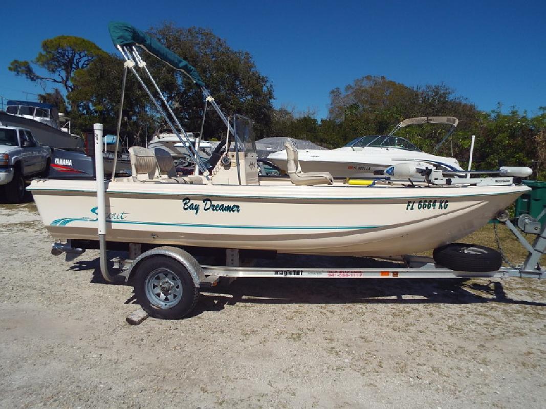 1998 Scout 155 Sport Fish Nokomis FL