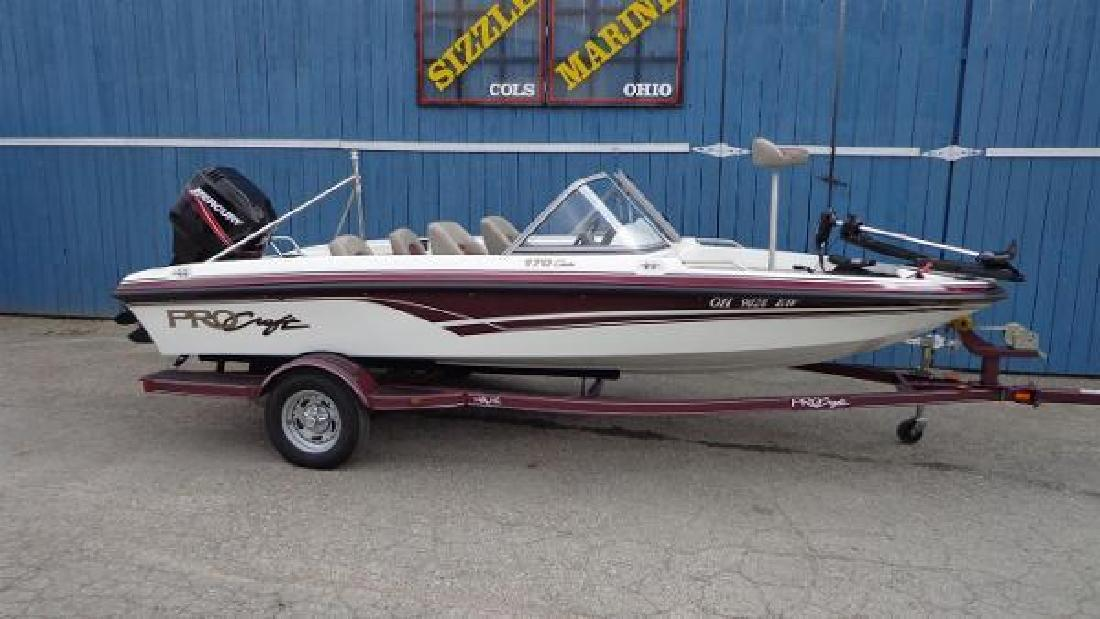 Fishing new and used boats for sale in ohio for Fishing in columbus ohio