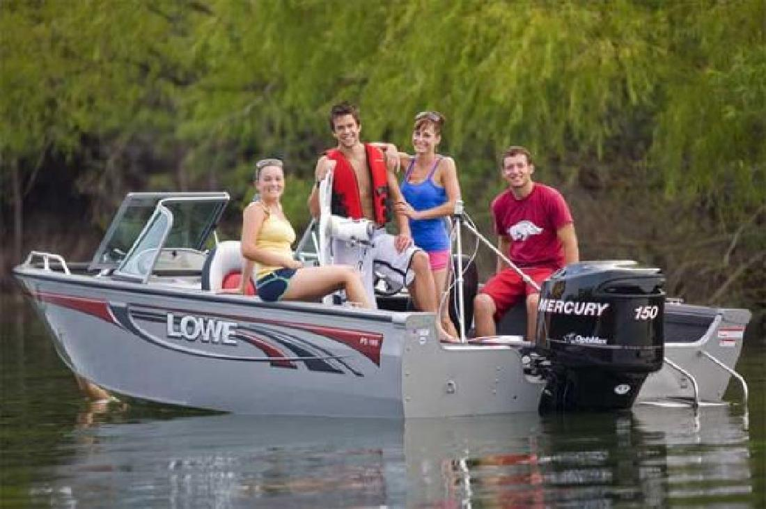 2011 18' Lowe Boats Fish & Ski Fs185 for sale in Fort Smith