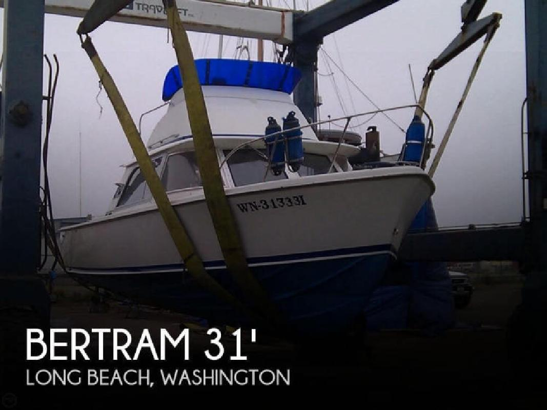 1962 Bertram Yacht 31 Sport Fisher Long Beach WA
