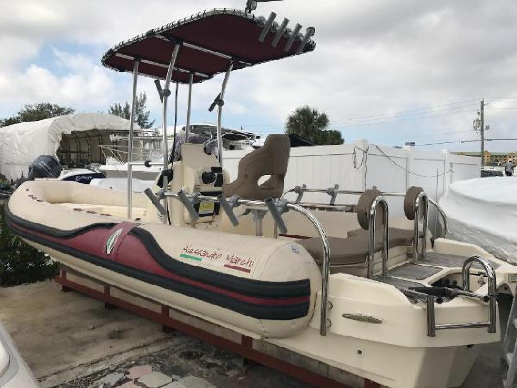 2015 Alessandro Marchi 22 Carenalunga Fisherman Dania Beach FL