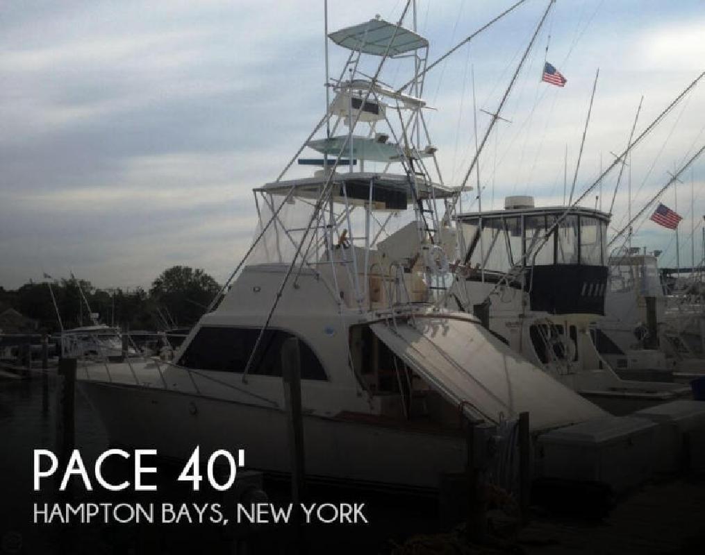 1989 Pace 40 Custom Sport Fisherman Hampton Bays NY