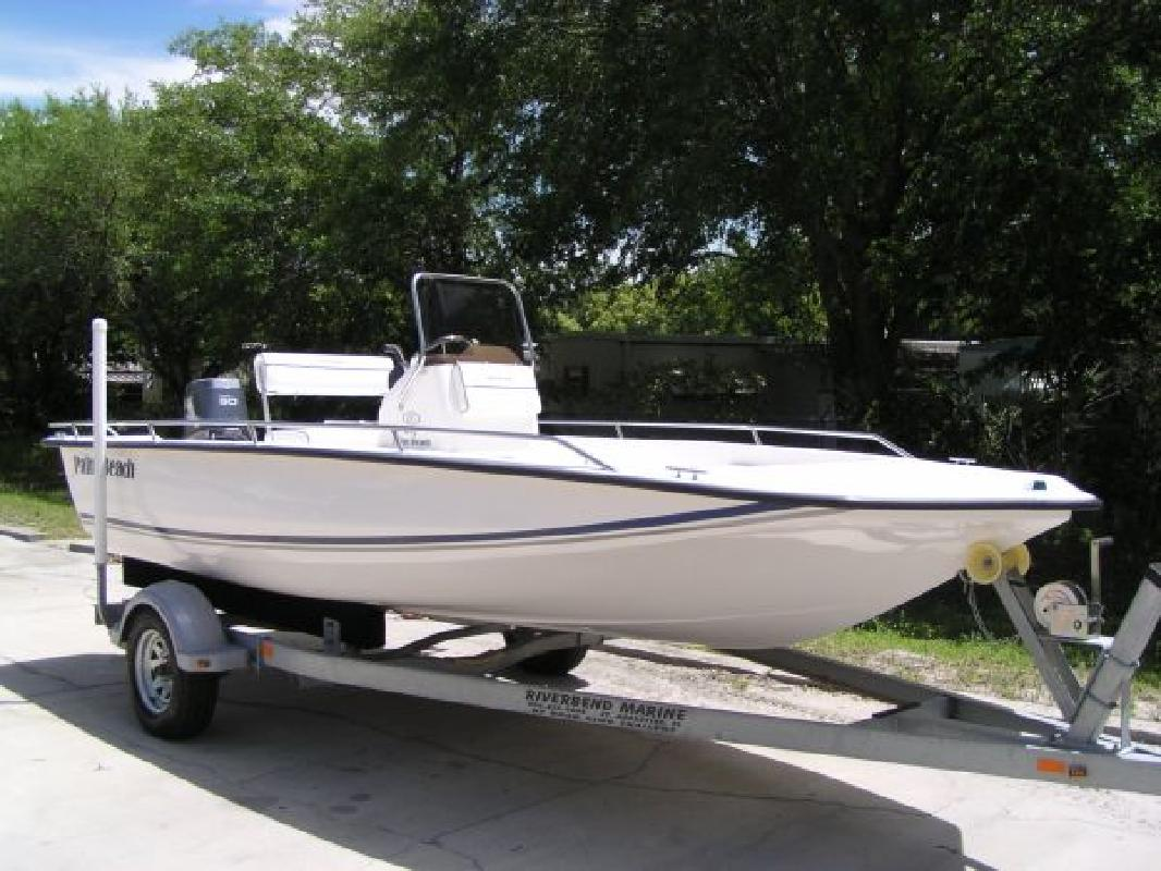 2008 18 Palm Beach Fishing Boat 185