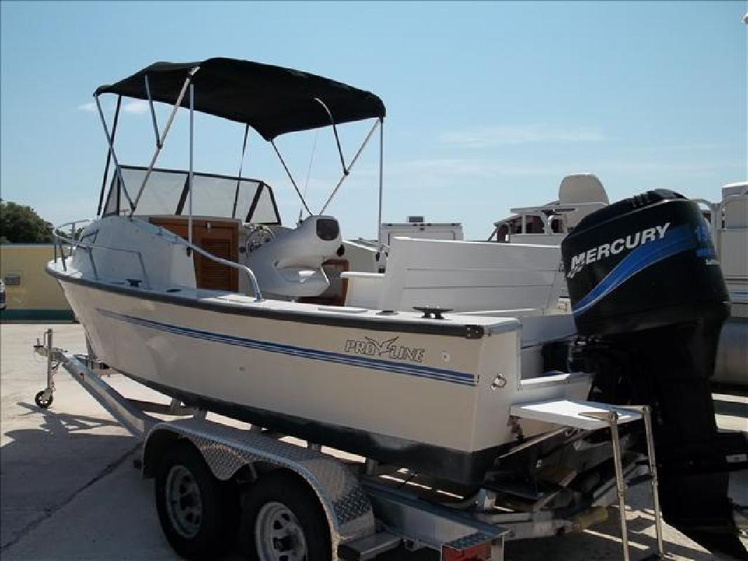 1980 20' Pro-Line Boats, Inc. Fishing Boat 20 Walkaround/Cuddy in Rockledge, ...