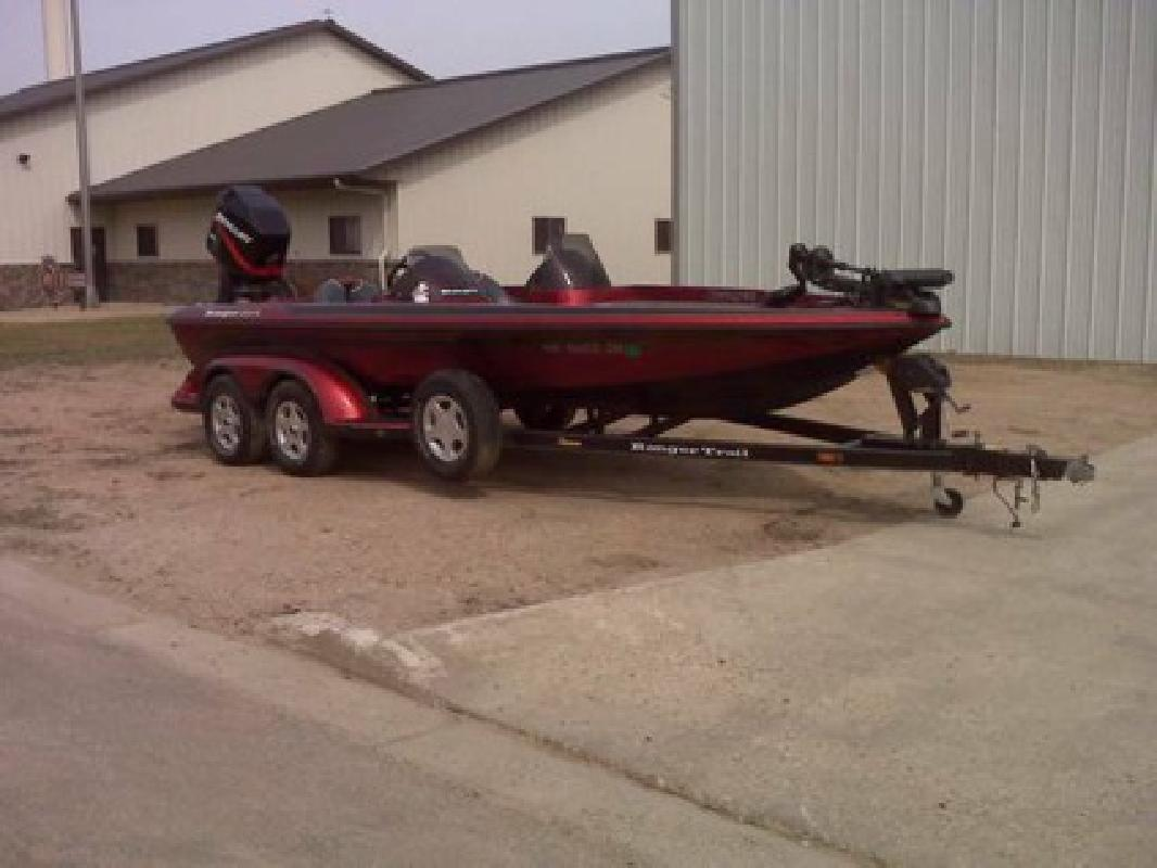 Ranger new and used boats for sale in minnesota for Used fishing boats for sale mn