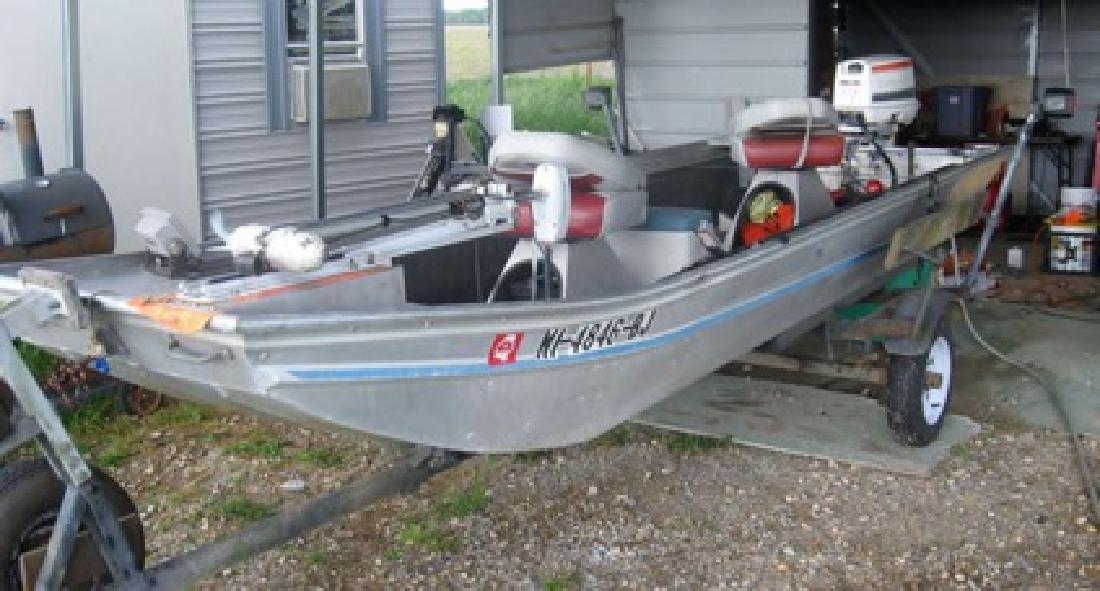 Aluminum Fishing Boats For Sale >> 1 500 15 Aluminum Fishing Boat For Sale In Huntsville Alabama