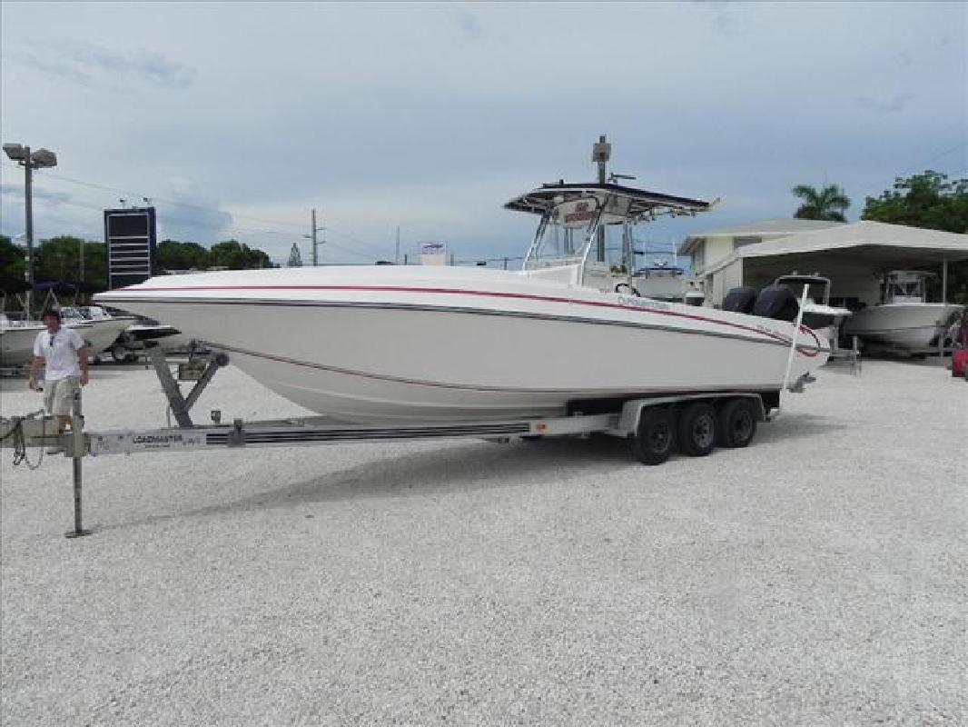 2005 31' Fountain Powerboats Inc. Fishing Boat 31 Center Console in Key ...