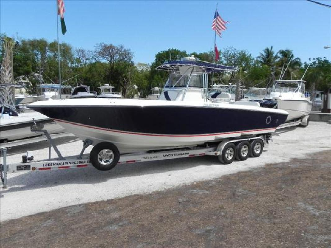 2008 32' Fountain Powerboats Inc. Fishing Boat 32 Center Console