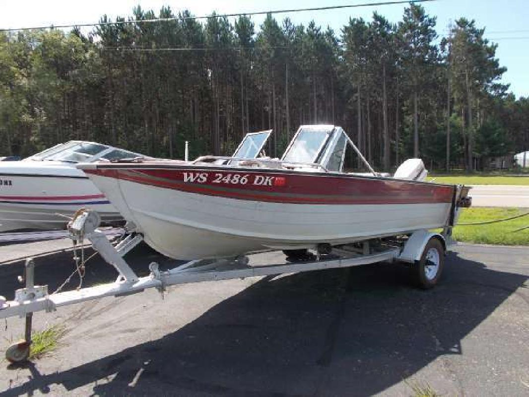16 foot boats for sale in wi for Used fishing boats for sale in wisconsin