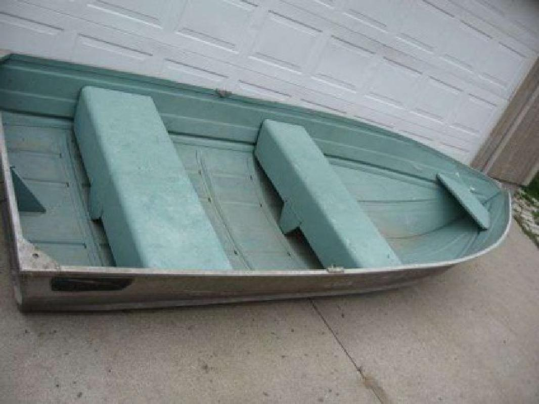 500 sears gamefisher 12 foot aluminum fishing boat obo l for 12 foot fishing boat