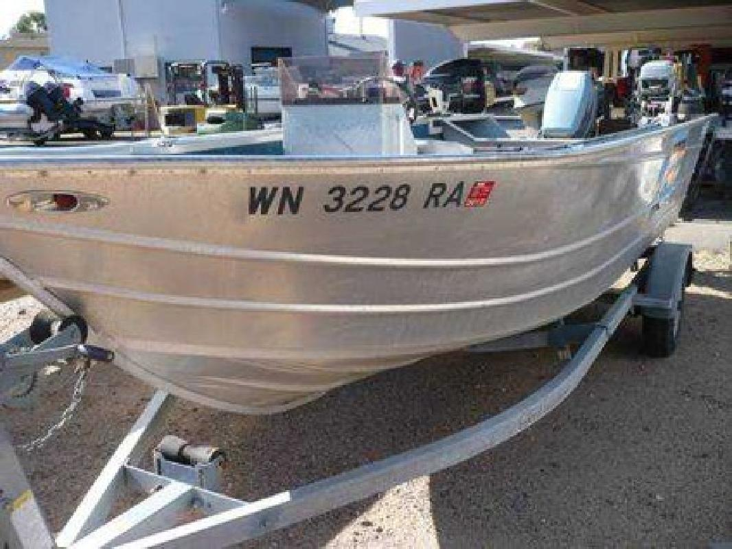 Aluminum Fishing Boats For Sale >> 3 900 Klamath Westcoaster Deep V Aluminum Fishing Boat Single