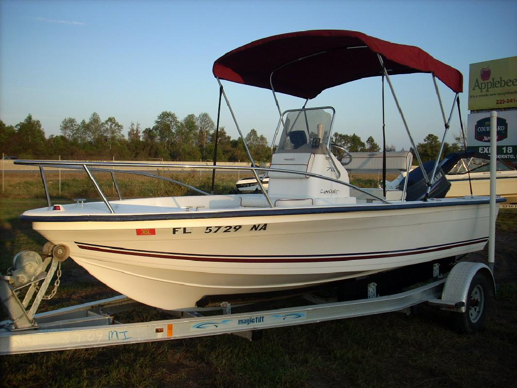 2006 17' Cape Craft Fishing Boats 17 CC