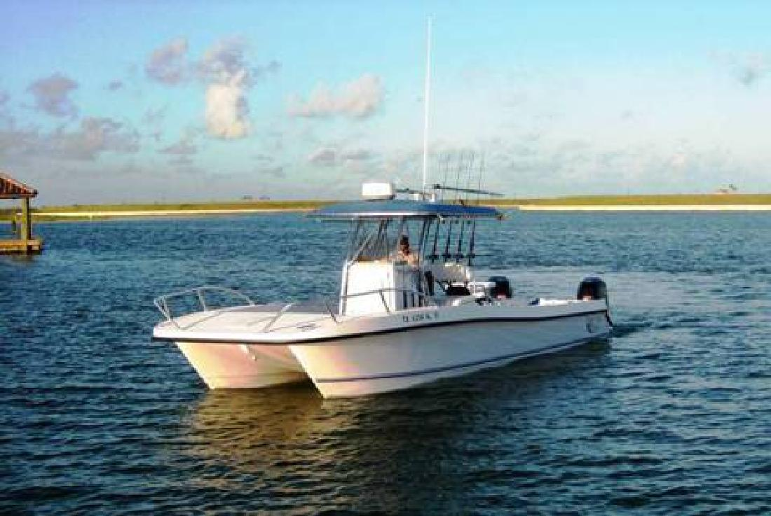Twin Vee Offshore Fishing Catamaran For Sale In League