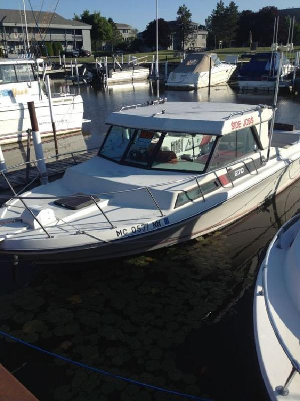 1990 - Sport-Craft Boats - 270 Fishmaster in Au Gres, MI