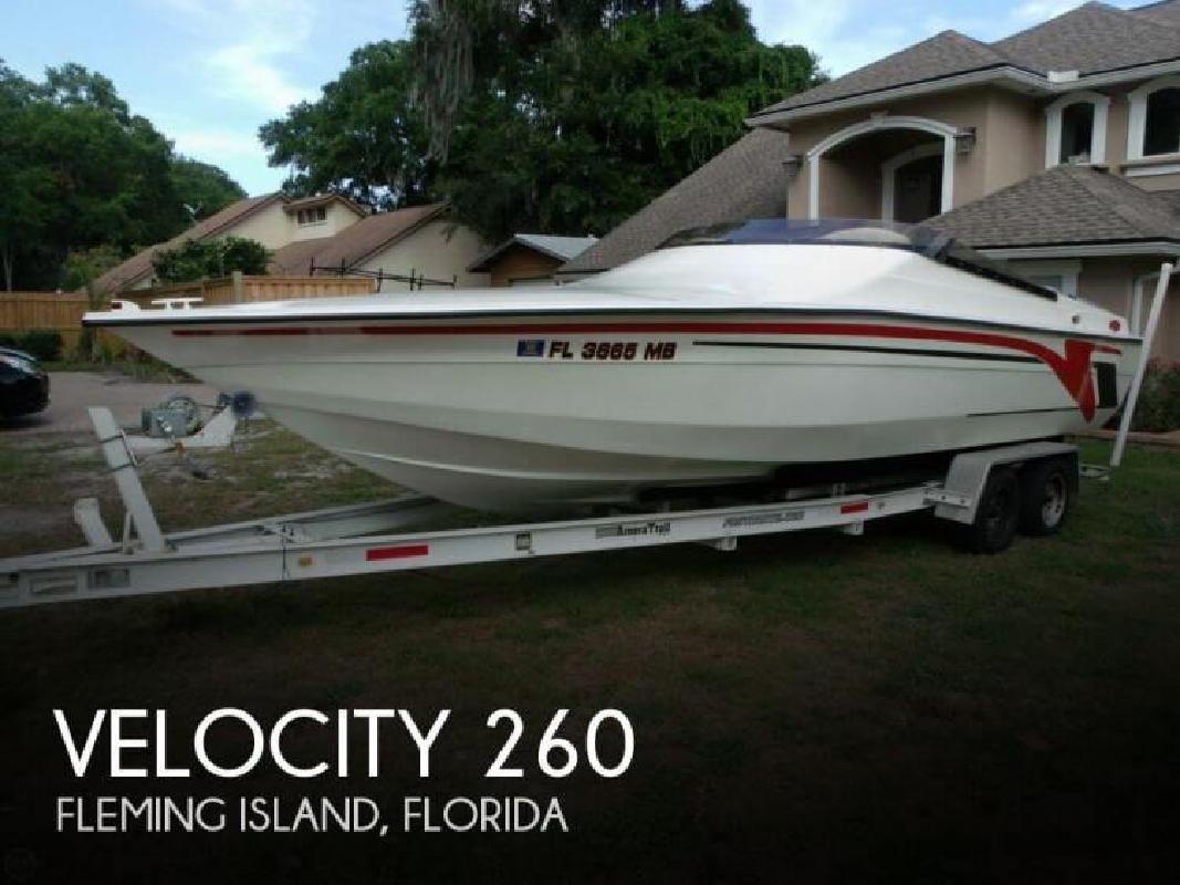 1999 Velocity Thoroughbred 260 Fleming Island FL