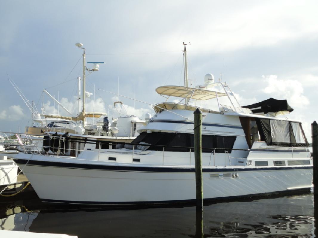 1983 48' Gulfstar Flybridge Motor Yacht