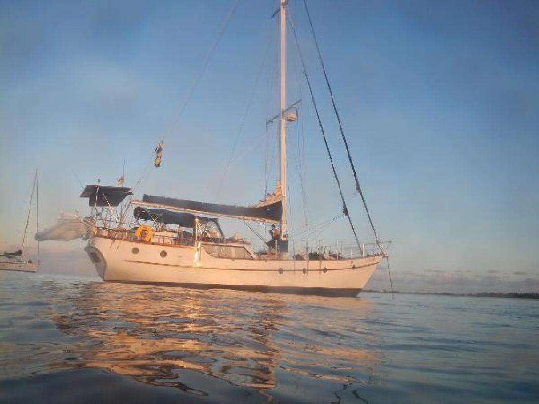 1987 Mikelson Pilothouse Cutter Fort Lauderdale Fl For Sale