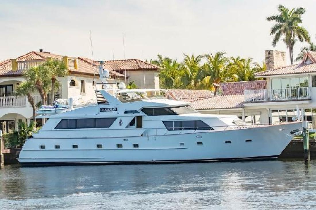 1989 Broward Raised Pilothouse Fort Lauderdale FL