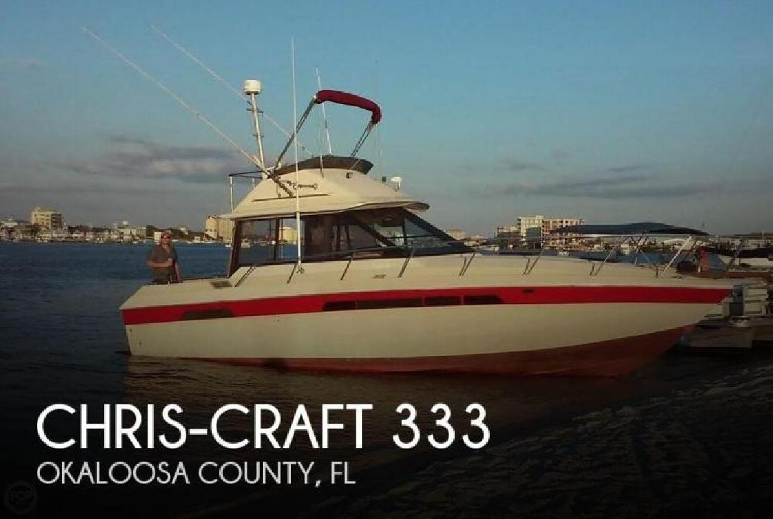 1982 Chris Craft 333 Fort Walton Beach FL