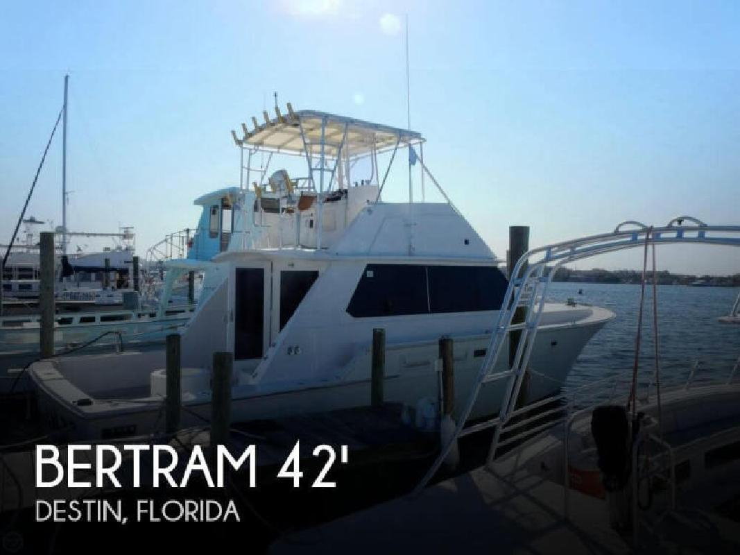 1981 Bertram Yacht 42 Convertible Fort Walton Beach FL