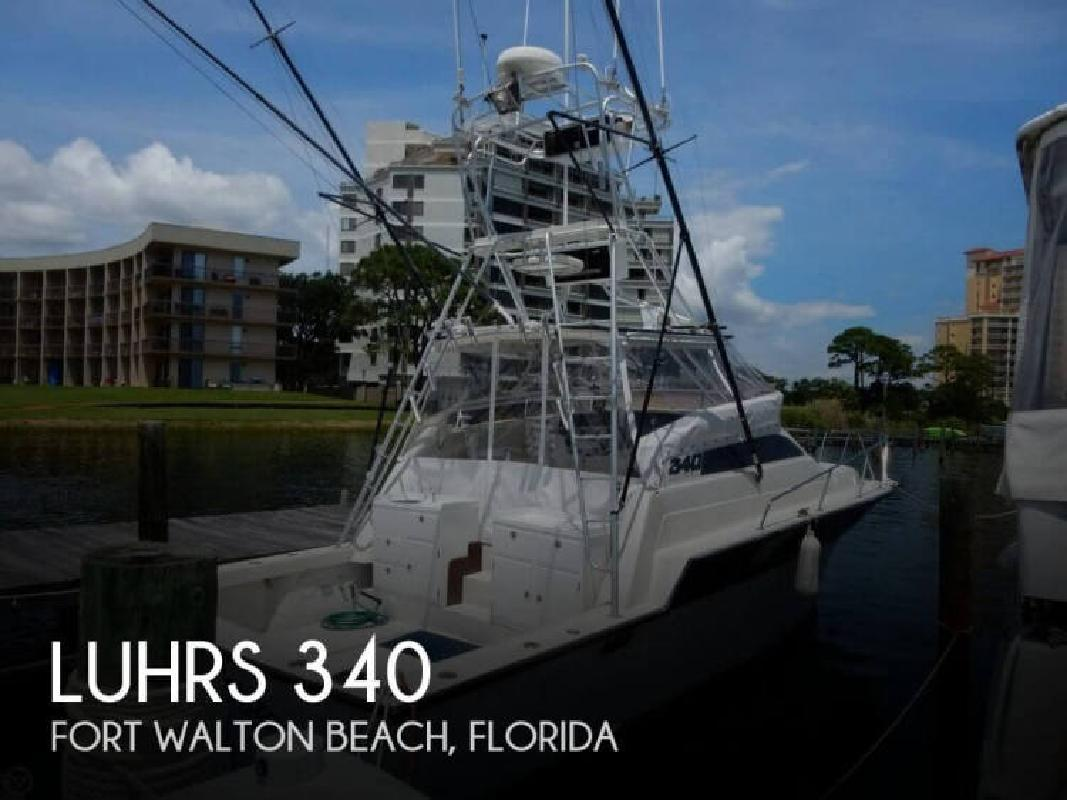 1984 Luhrs Boats 340 Fort Walton Beach FL