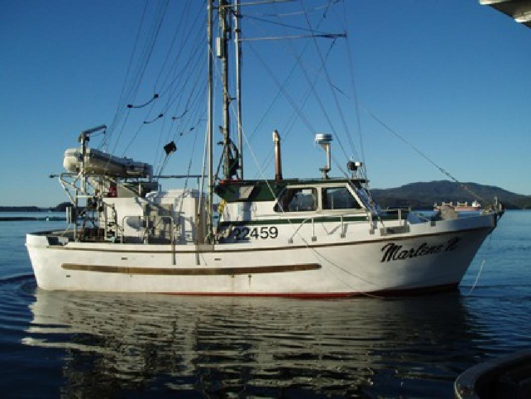 $89,000 37' Commercial Fishing Freezer Troller