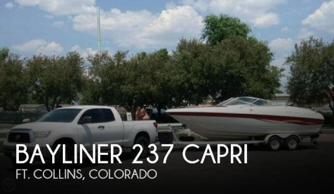 2001 Bayliner 237 Capri Ft Collins CO for sale in Utleyville