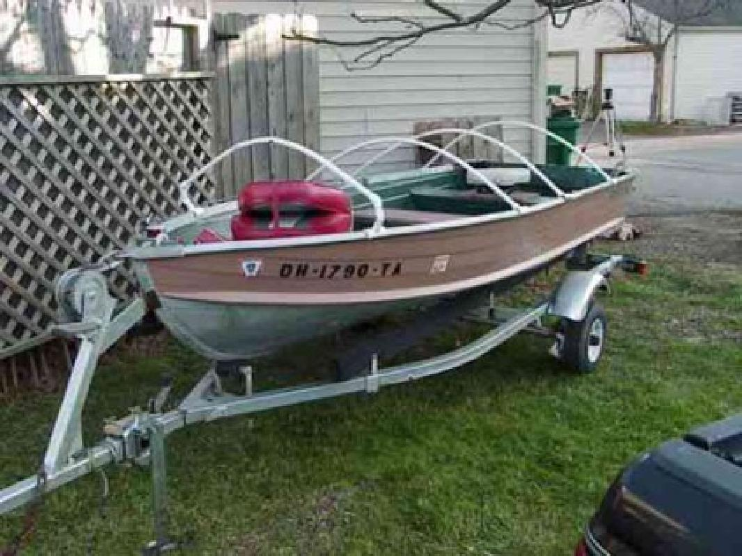 Fishing boat 12 39 ft starcraft trailer westerville for Fishing boats for sale in ohio