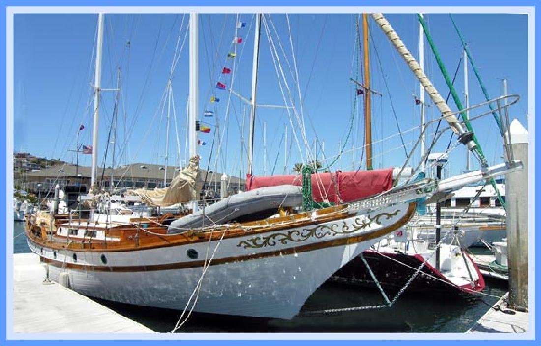 1971 44 39 robin fung porpoise 44 for sale in san diego for William garden boat designs