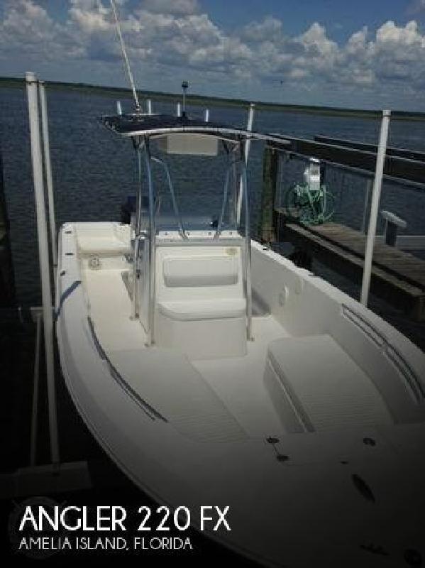 2010 Angler Boats 220 FX Amelia Island FL