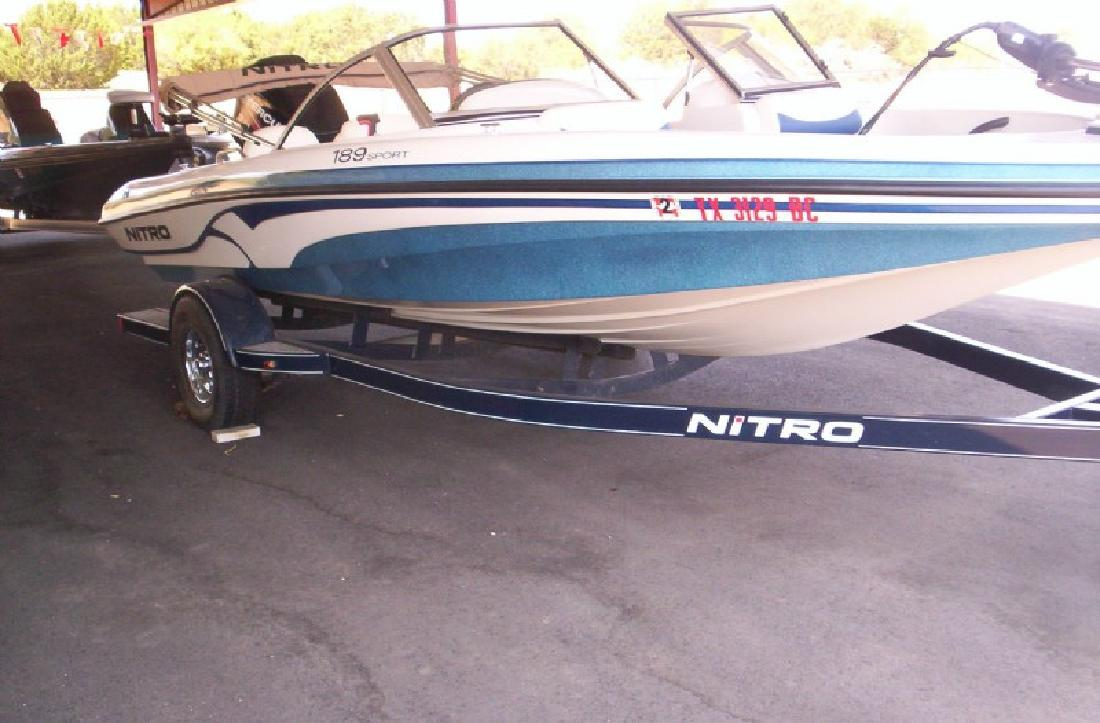 2009 19' Tracker Marine Group Nitro 189 Sport