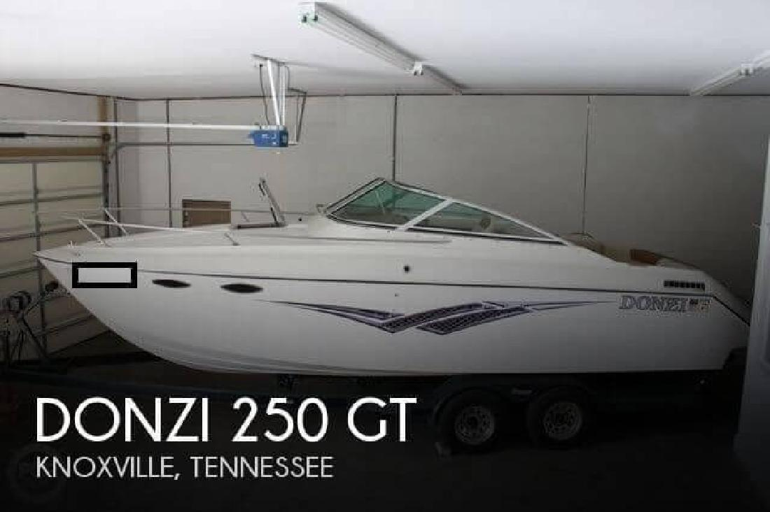 1990 Donzi Marine 250 GT Knoxville TN