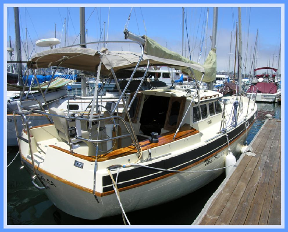 1990 32' Capital Yachts Gulf 32 Pilothouse