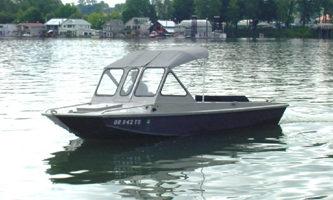 1983 18 39 Fish Rite Two Guys 18 39 Inboard Jet For Sale In