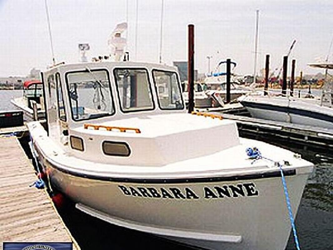 1985 25 39 b h m downeast for sale in staten island new for Staten island fishing