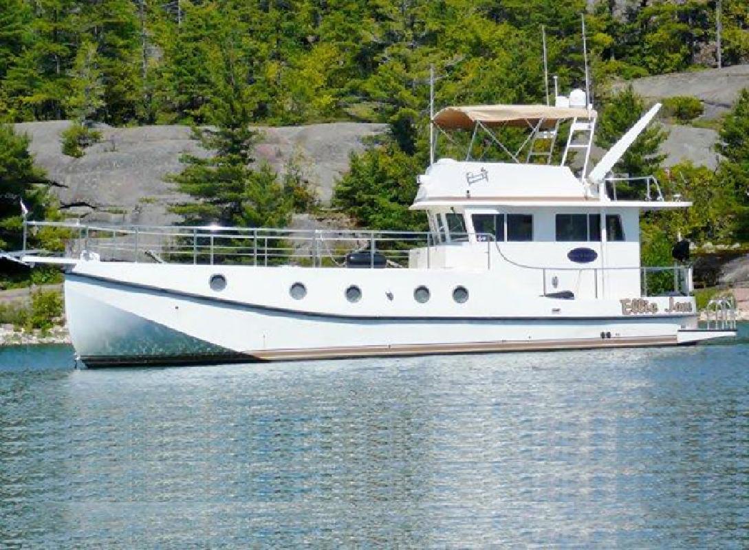 2008 47' Great Harbor N47 Trawler