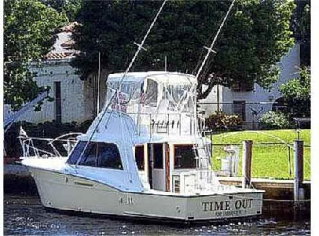 $79,000 1977 36 (ft ) Hatteras Yachts Convertible for sale in Fort