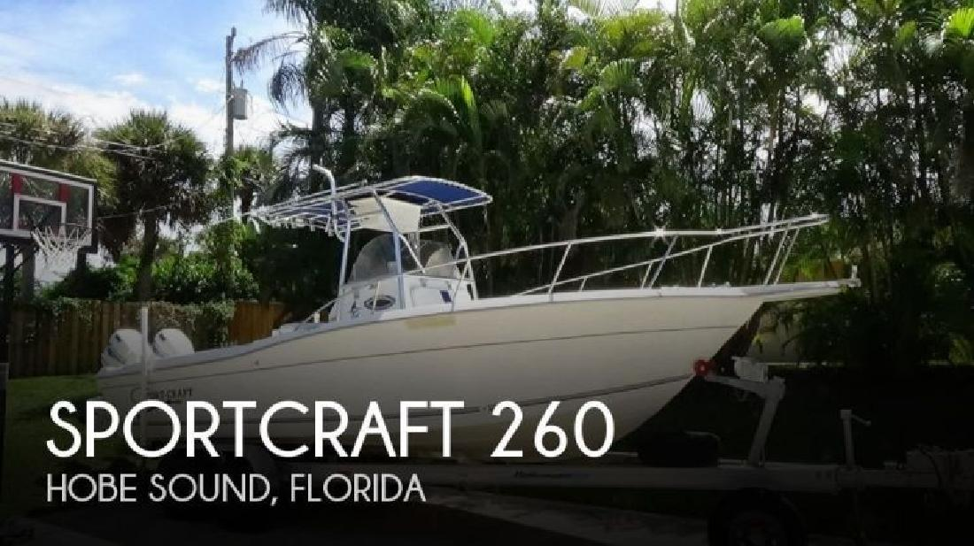 2000 Sportcraft 260 Hobe Sound FL