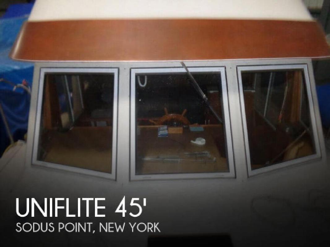1983 Uniflite 45 Yacht Home Sodus Point NY