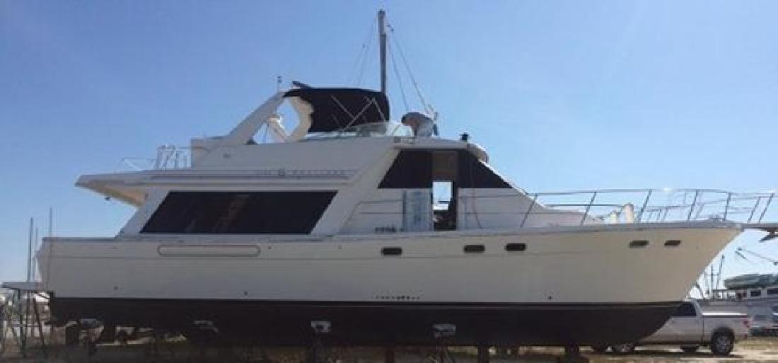 1996 Bayliner 4788 Pilot House Motoryacht Biloxi MS