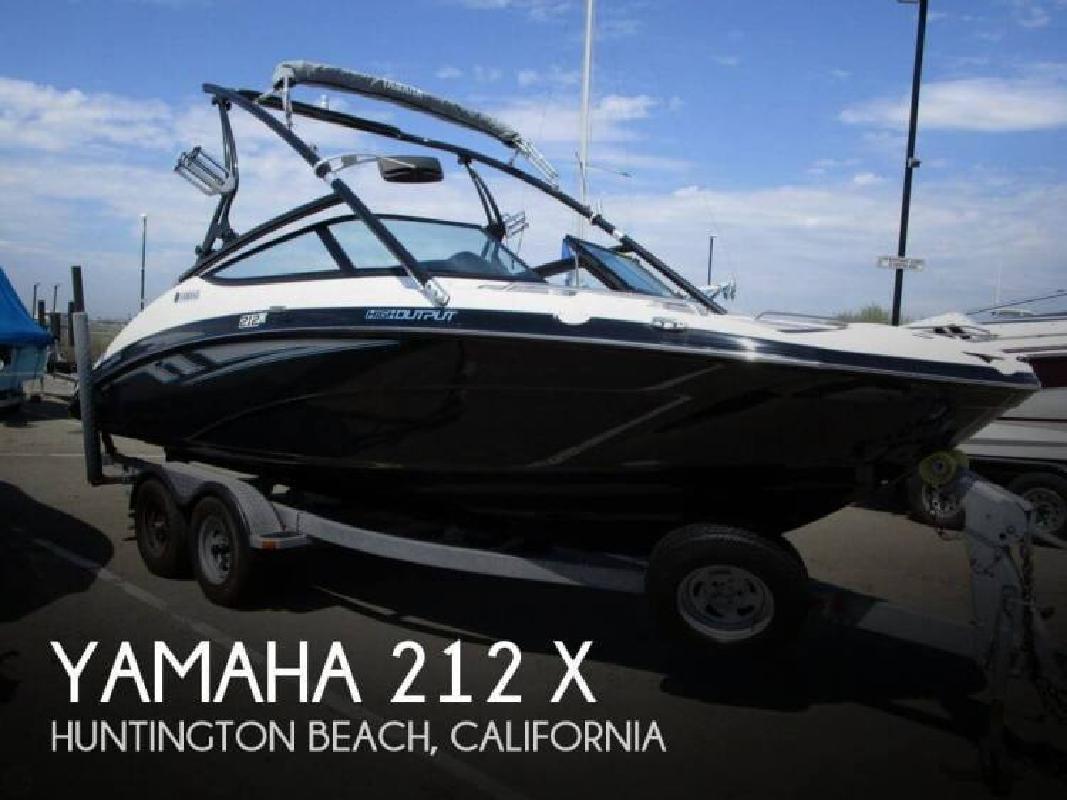 2013 Yamaha 212 X Huntington Beach CA