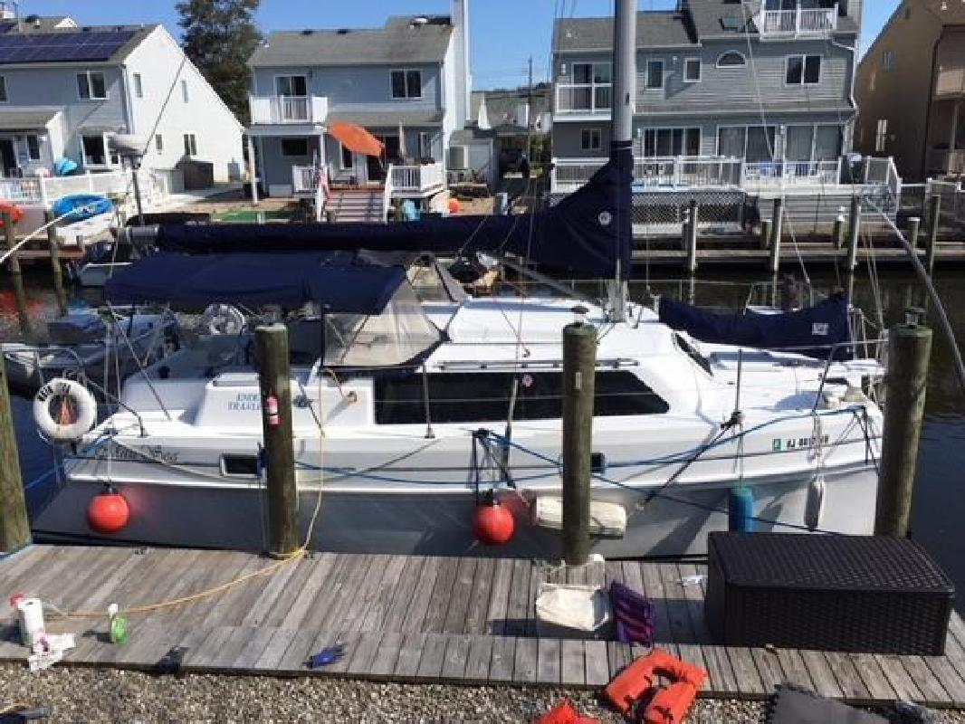1997 Endeavour Catamaran Mark II Brick NJ