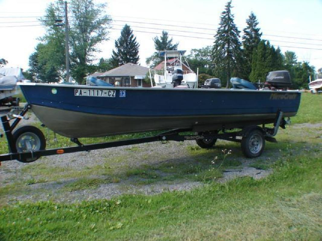 2004 - Mirrocraft Boats in Conneaut Lake, PA