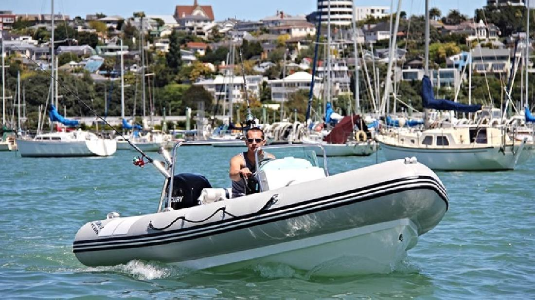 2015 17 Atomix Inflatable RIB in Ft. Lauderdale, FL
