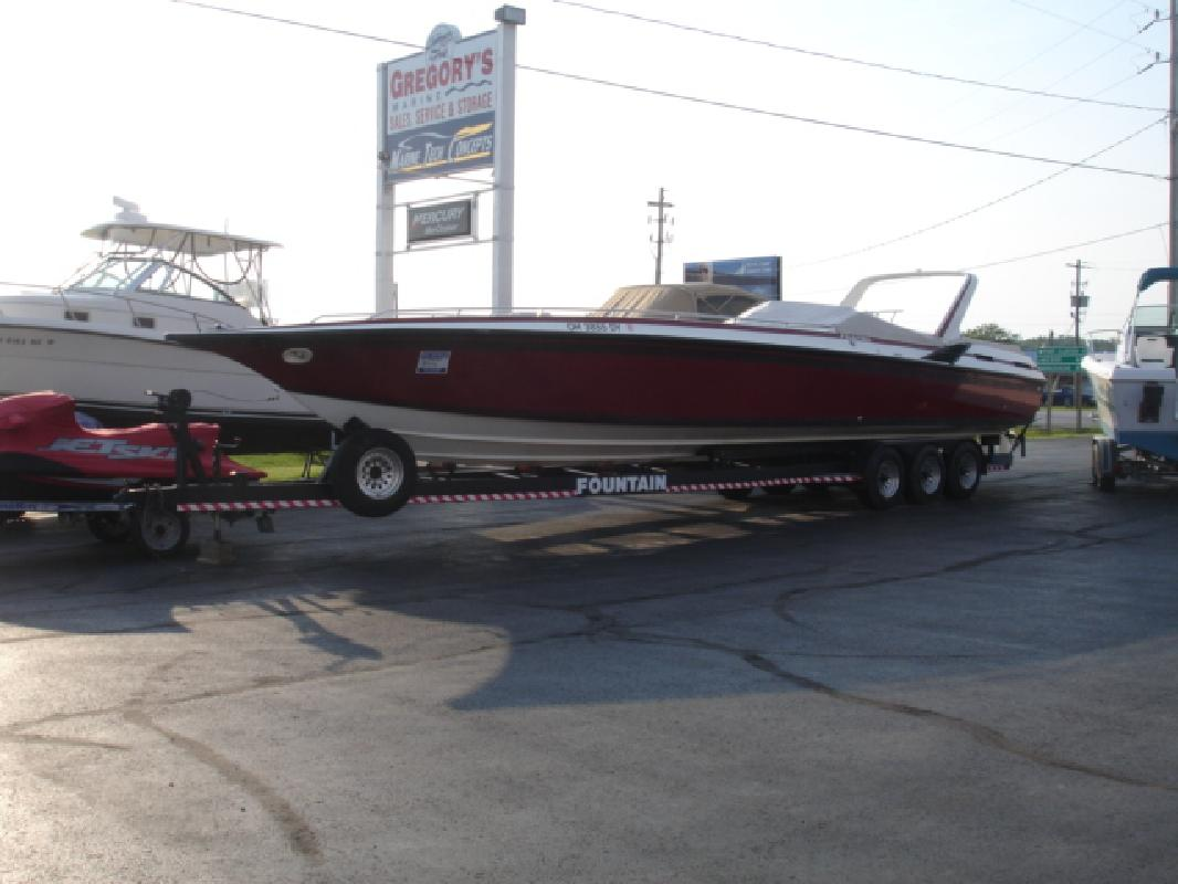 1987 40' Fountain Powerboats Inc. 12 Meter Sport/Os