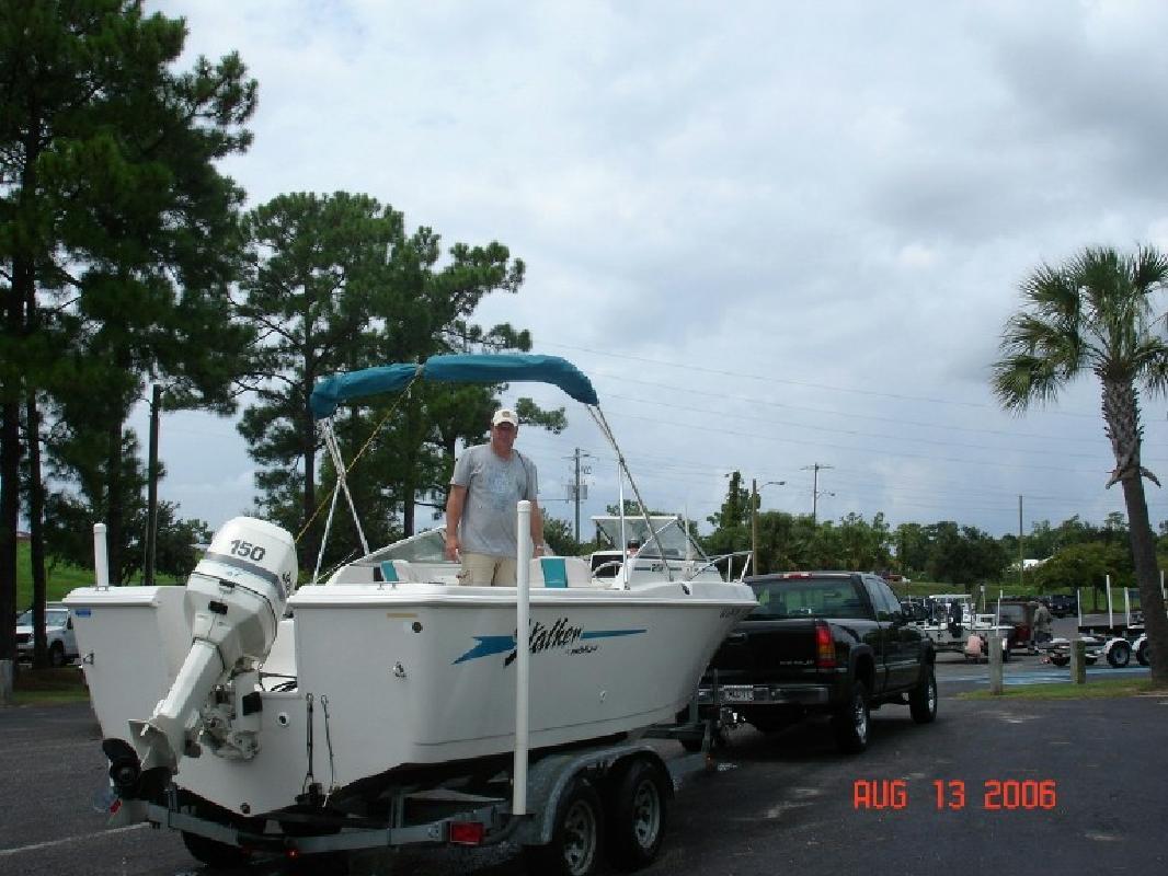 1996 20' Pro-Line Boats, Inc. 202 STALKER