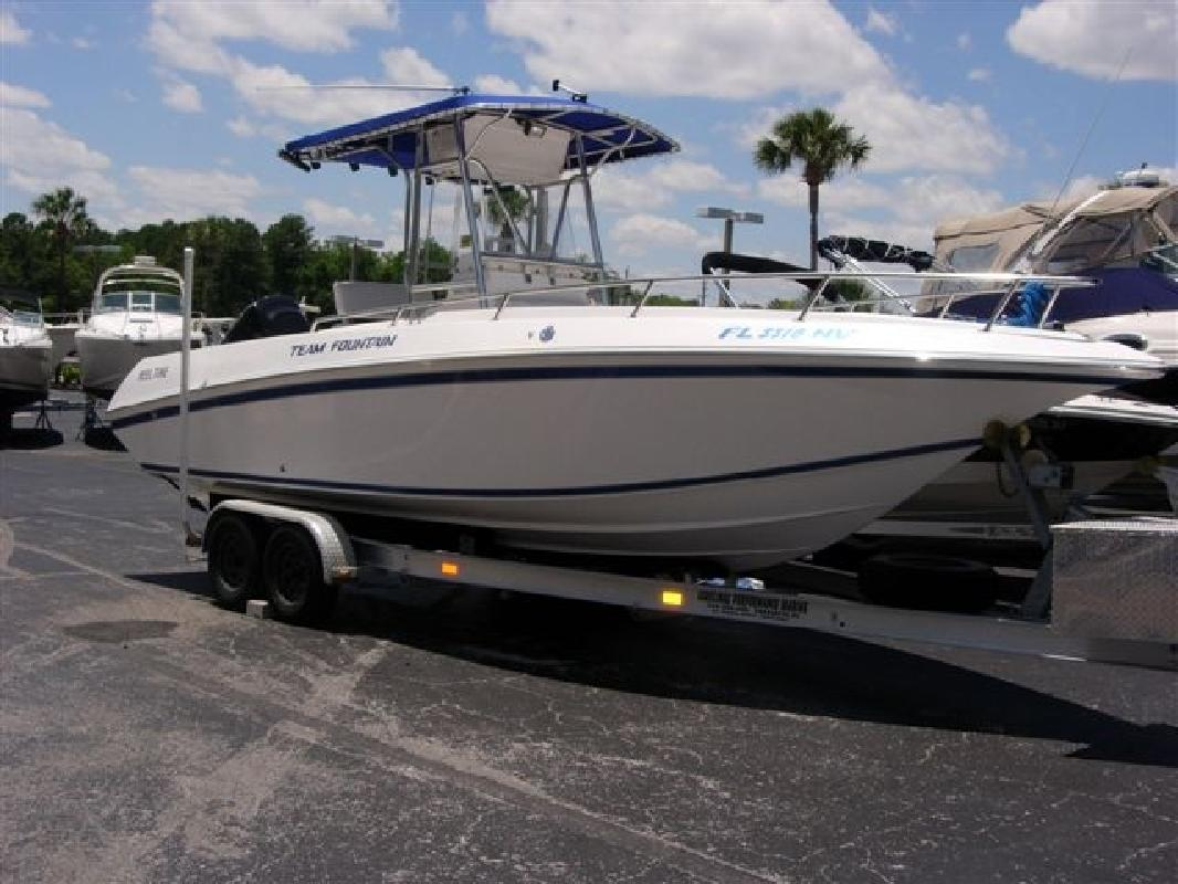 2003 25' Fountain Powerboats Inc. 23 CENTER CONSOLE in Jacksonville, Florida